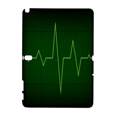 Heart Rate Green Line Light Healty Galaxy Note 1 by Mariart