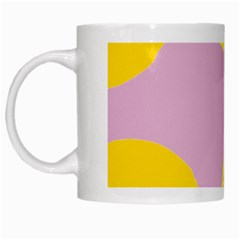 Fruit Lemons Orange Purple White Mugs by Mariart