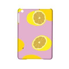 Fruit Lemons Orange Purple Ipad Mini 2 Hardshell Cases by Mariart