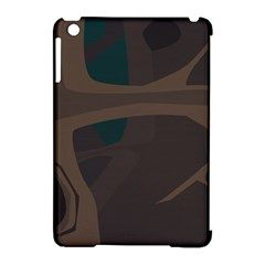 Tree Jungle Brown Green Apple Ipad Mini Hardshell Case (compatible With Smart Cover) by Mariart