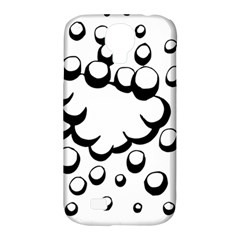 Splash Bubble Black White Polka Circle Samsung Galaxy S4 Classic Hardshell Case (pc+silicone) by Mariart