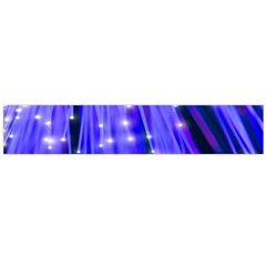 Neon Light Line Vertical Blue Flano Scarf (large) by Mariart