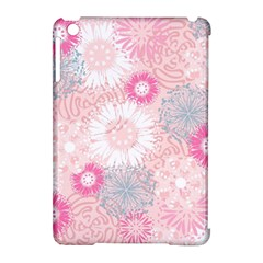 Scrapbook Paper Iridoby Flower Floral Sunflower Rose Apple Ipad Mini Hardshell Case (compatible With Smart Cover) by Mariart