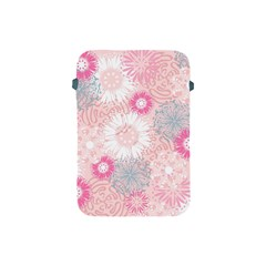 Scrapbook Paper Iridoby Flower Floral Sunflower Rose Apple Ipad Mini Protective Soft Cases by Mariart