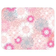 Scrapbook Paper Iridoby Flower Floral Sunflower Rose Double Sided Flano Blanket (medium)  by Mariart