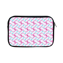 Squiggle Red Blue Milk Glass Waves Chevron Wave Pink Apple Ipad Mini Zipper Cases by Mariart