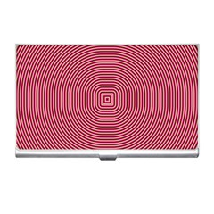 Stop Already Hipnotic Red Circle Business Card Holders by Mariart