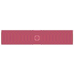 Stop Already Hipnotic Red Circle Flano Scarf (small) by Mariart