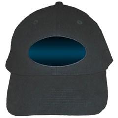 Decorative Pattern Black Cap by ValentinaDesign