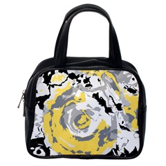 Abstract Art Classic Handbags (one Side) by ValentinaDesign