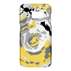Abstract Art Samsung Galaxy S7 Hardshell Case  by ValentinaDesign