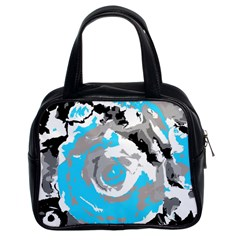 Abstract Art Classic Handbags (2 Sides) by ValentinaDesign