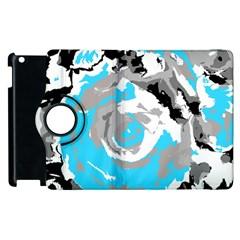 Abstract Art Apple Ipad 2 Flip 360 Case by ValentinaDesign