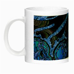 Unique Abstract Mix 1b Night Luminous Mugs by MoreColorsinLife