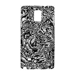 Abstract Art Samsung Galaxy Note 4 Hardshell Case by ValentinaDesign