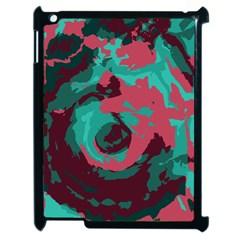 Abstract Art Apple Ipad 2 Case (black) by ValentinaDesign