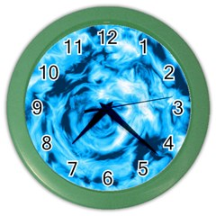 Abstract Art Color Wall Clocks by ValentinaDesign