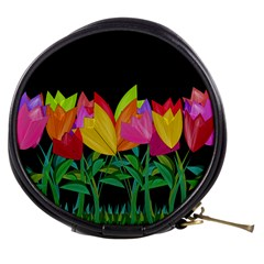 Tulips Mini Makeup Bags by ValentinaDesign