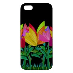Tulips Iphone 5s/ Se Premium Hardshell Case by ValentinaDesign