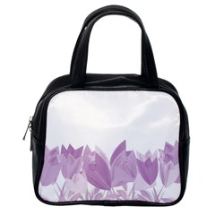 Tulips Classic Handbags (one Side) by ValentinaDesign