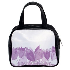 Tulips Classic Handbags (2 Sides) by ValentinaDesign