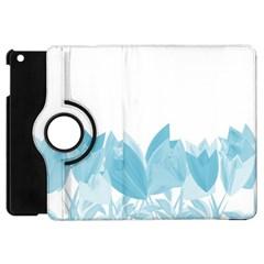 Tulips Apple Ipad Mini Flip 360 Case by ValentinaDesign