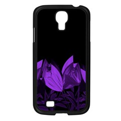 Tulips Samsung Galaxy S4 I9500/ I9505 Case (black) by ValentinaDesign