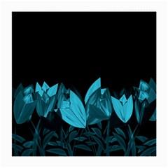 Tulips Medium Glasses Cloth (2 Side) by ValentinaDesign