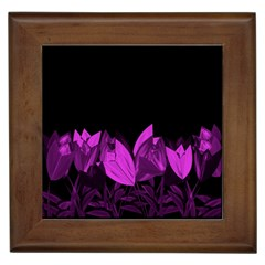 Tulips Framed Tiles by ValentinaDesign