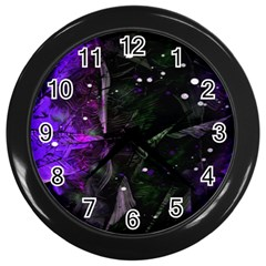 Abstract Design Wall Clocks (black) by ValentinaDesign