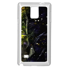 Abstract Design Samsung Galaxy Note 4 Case (white) by ValentinaDesign