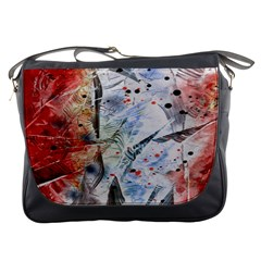 Abstract Design Messenger Bags by ValentinaDesign