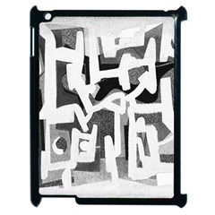 Abstract Art Apple Ipad 2 Case (black) by ValentinaDesign