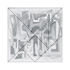 Abstract Art Acrylic Tangram Puzzle (6  X 6 ) by ValentinaDesign