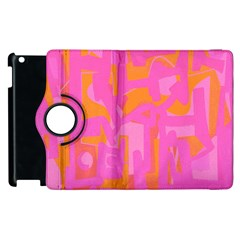 Abstract Art Apple Ipad 3/4 Flip 360 Case by ValentinaDesign