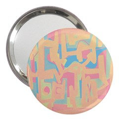 Abstract Art 3  Handbag Mirrors by ValentinaDesign