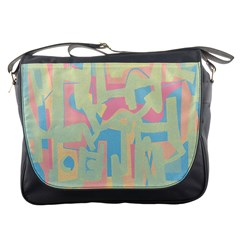 Abstract Art Messenger Bags by ValentinaDesign