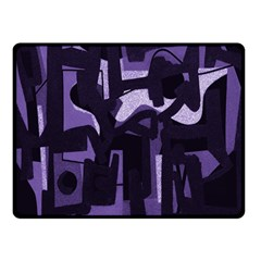 Abstract Art Fleece Blanket (small) by ValentinaDesign