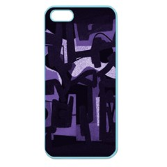 Abstract Art Apple Seamless Iphone 5 Case (color) by ValentinaDesign