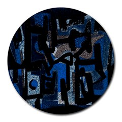 Abstract Art Round Mousepads by ValentinaDesign