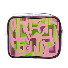 Abstract Art Mini Toiletries Bags by ValentinaDesign