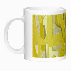 Abstract Art Night Luminous Mugs by ValentinaDesign