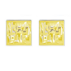 Abstract art Cufflinks (Square) by ValentinaDesign