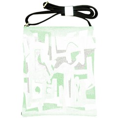 Abstract Art Shoulder Sling Bags by ValentinaDesign