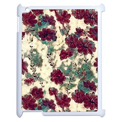 Floral Dreams 10 Apple Ipad 2 Case (white) by MoreColorsinLife