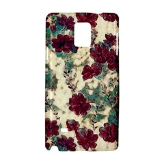Floral Dreams 10 Samsung Galaxy Note 4 Hardshell Case by MoreColorsinLife