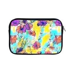 Floral Dreams 12 Apple Ipad Mini Zipper Cases by MoreColorsinLife