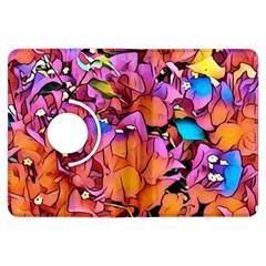 Floral Dreams 15 Kindle Fire Hdx Flip 360 Case by MoreColorsinLife