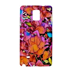 Floral Dreams 15 Samsung Galaxy Note 4 Hardshell Case by MoreColorsinLife