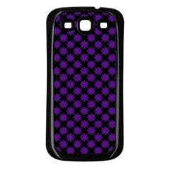 Pattern Samsung Galaxy S3 Back Case (black) by ValentinaDesign